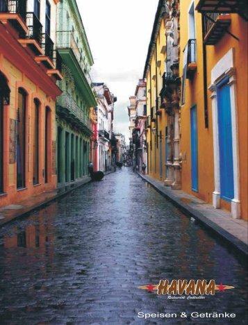 Speisen & Getränke - Havana