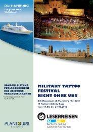 Military Tattoo Festival-Prospekt zum ... - Aachener Zeitung
