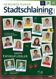 gemeinde-kurier E E - Stadtschlaining