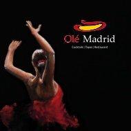 Cocktails | Tapas | Restaurant - Spanisches Restaurant Ole Madrid ...