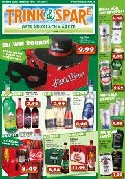 1,99 - Trink & Spare Getränkefachmärkte GmbH