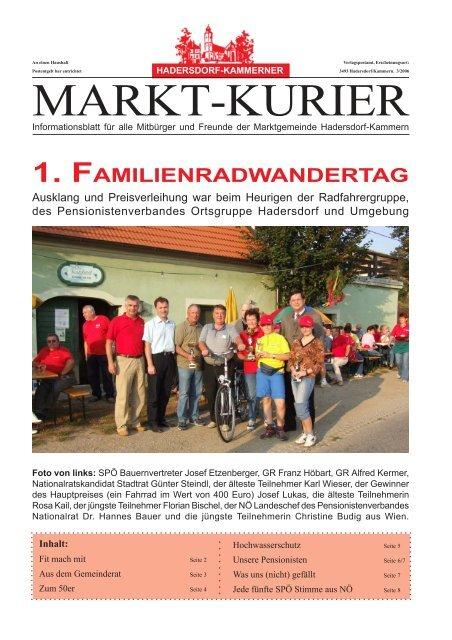 Hadersdorf-kammern meine stadt single: Partnersuche bezirk