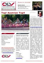 Top! Austrian Top4 - ÖLV Österreichischer Leichtathletikverband