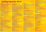 Ferienprogramm 2010 - Stadtgemeinde Weiz