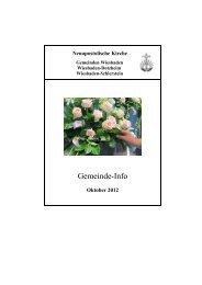 Gemeinde-Info - NAK Wiesbaden