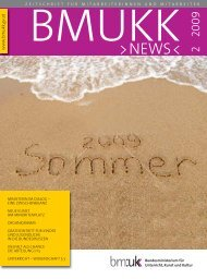 02-2009 - BMUKK News - Bundesministerium für Unterricht, Kunst ...