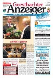 Geesthachter Anzeiger - Gelbesblatt Online