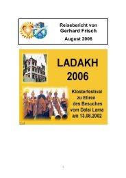 Gerhard Frisch - Ladakh-Reisen.de