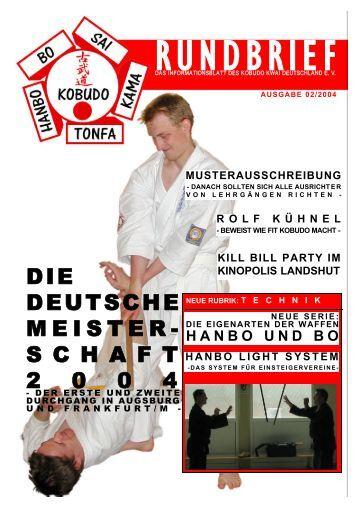 02/2004 - Kobudo Kwai Deutschland