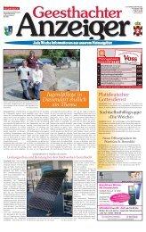 Geesthachter Anzeiger - Kurt Viebranz Verlag
