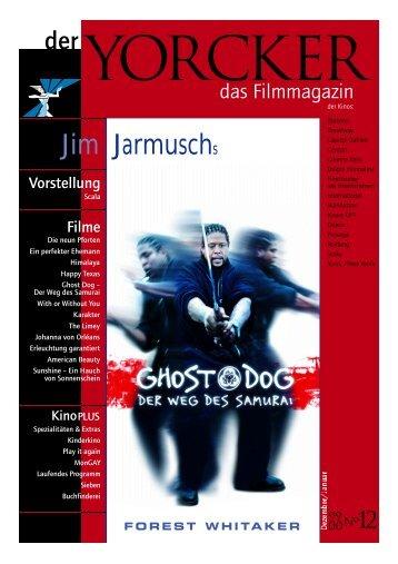Yorcker Nr. 12 (Jan/Febr 2000) - Yorck Kino GmbH