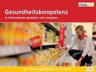 Gesundheitskompetenz in Unternehmen gestalten und umsetzen
