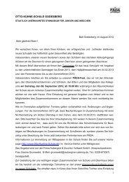 Elternbrief Sommer 2012 Download 175 KB - Otto Kühne Schule