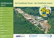 Abfallkalender 2012 - Frankfurter Dienstleistungsholding GmbH