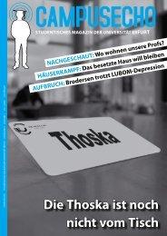 Die Thoska ist noch nicht vom Tisch - Digitale Bibliothek Thüringen