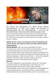 Interview Dr. Dieter Boers - Feng Shui Schule Schweiz