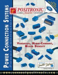 Power Connection Systems Catalog - Positronic Industries Inc