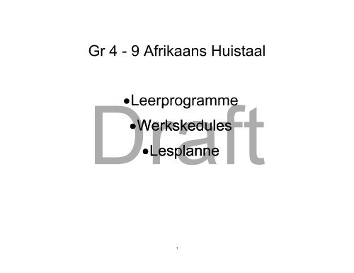 afrikaans hl intermediate phase