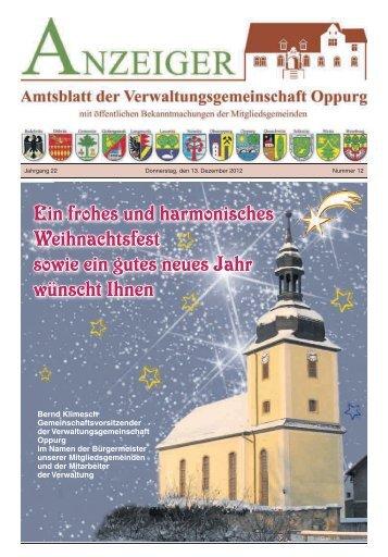 Amtsblatt 12 - VG Oppurg
