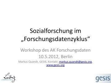 Sozialwissenschaften - TIB