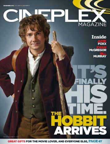 Cineplex Magazine December2012