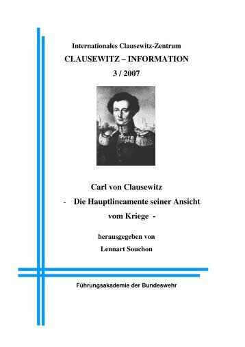 clausewitz and strategic studies Several videos making reference to clausewitz are listed below, some of which  have actual  antulio j tony echevarria, strategic studies institute and editor, .