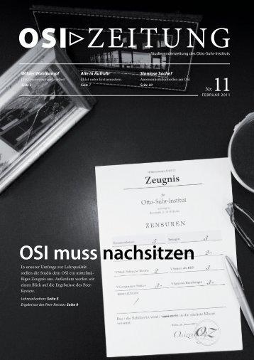 OSI-Zeitung