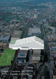 Europan 7, Lausanne, 2003 © Frei + Saarinen Architekten