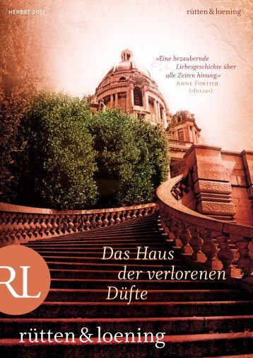 Ruetten & Loening Vorschau Herbst 2012 - vbmv.de