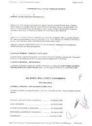 Convenção Coletiva - Sinduscon JP