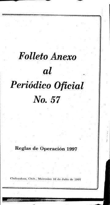 ' Folleto nexo '~ al . , - H. Congreso de Chihuahua