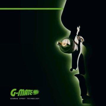 german spray technology - G-mate AG