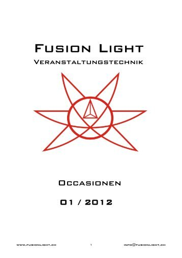 Occasionen - Fusion Light