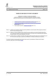 Examples and kinds of patent documents - WIPO