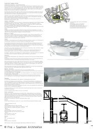 Mehr - Frei + Saarinen