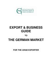 EXPORT & BUSINESS GUIDE THE GERMAN MARKET - Ghorfa