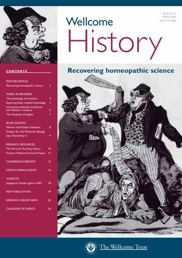 Issue 25 - Wellcome Trust