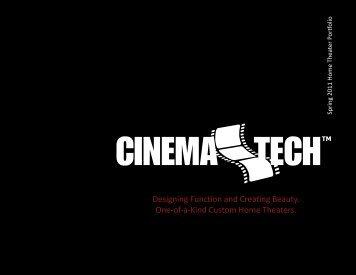 Company Brochure - CinemaTech