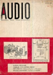 Audio magazine August 1956 - Vintage Vacuum Audio