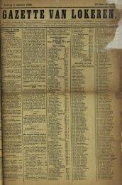Zondag 5 Januari 1896. 53« Jaar Lokeren 4 Janua.
