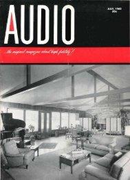 Audio Magazine July 1962 - Vintage Vacuum Audio