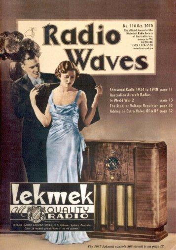 the stabilac – a vintage voltage regulator - Historical Radio Society ...