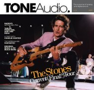 Standard Resolution Version 36MB - TONEAudio MAGAZINE