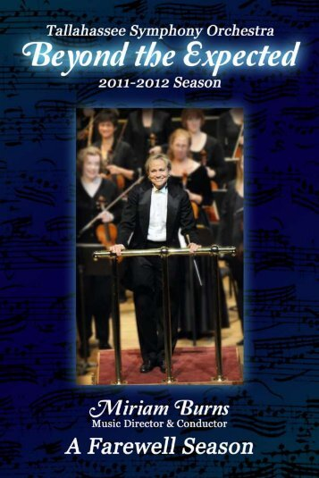 TSO 2011-2012 Season Program Book - Jessica K. Epps