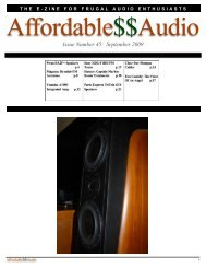 September 2009 - Affordable$$Audio