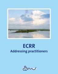 Addressing practitioners - European Centre for River Restoration