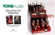 Download our 32 page index here - TONEAudio MAGAZINE