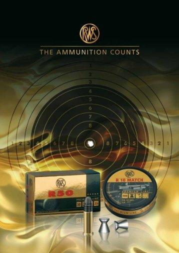 THE AMMUNITION COUNTS - RUAG