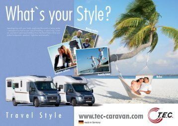 Information on www.tec-caravan.com - TEC Caravans