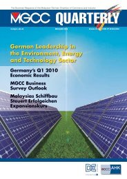 German Leadership in the Environment, Energy and Technology ...
